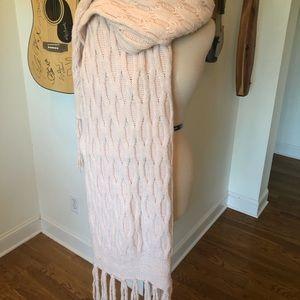 Jumbo sized Banana Republic pink scarf